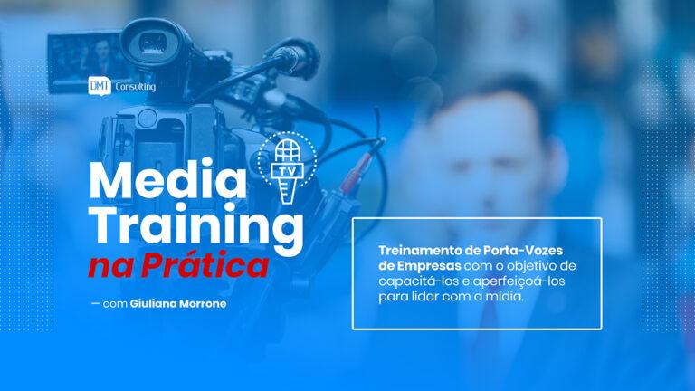 Media Training Treinamento DMT Palestras