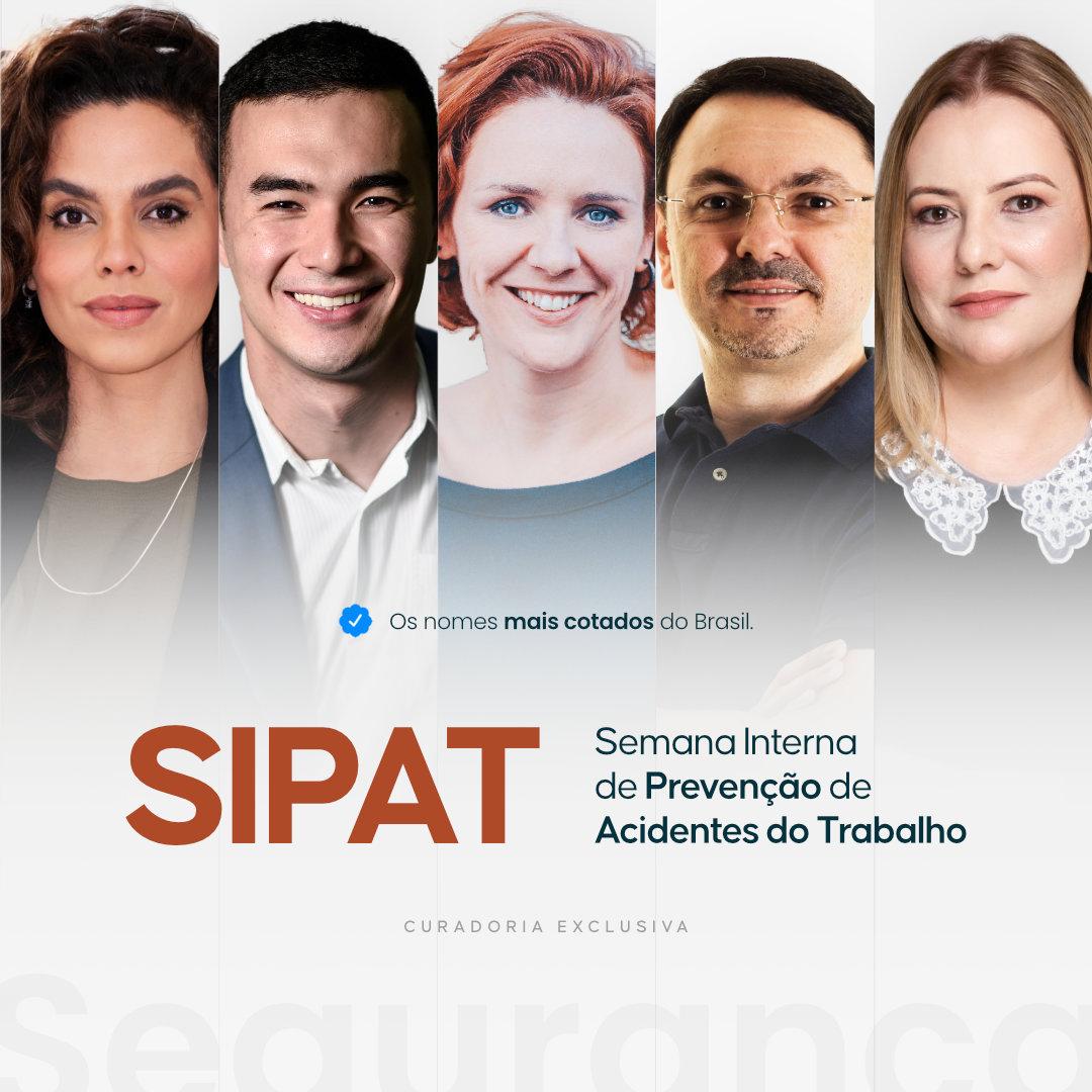 Palestrantes para a Semana Interna de Prevenção de Acidentes do Trabalho (SIPAT) DMT Palestras